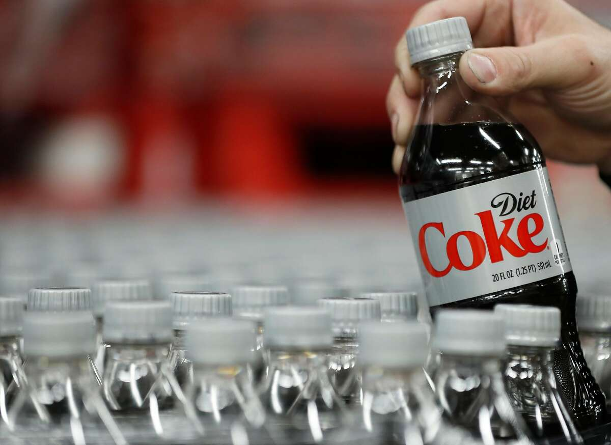 SALT LAKE CITY, UT - FEBRUARY 10: A bottle of Diet Coke is pulled for a quality control test at a Coco-Cola bottling plant on February 10, 2017 in Salt Lake City, Utah. Current Coke president James Quincey will become CEO on May 1. (Photo by George Frey/Getty Images)