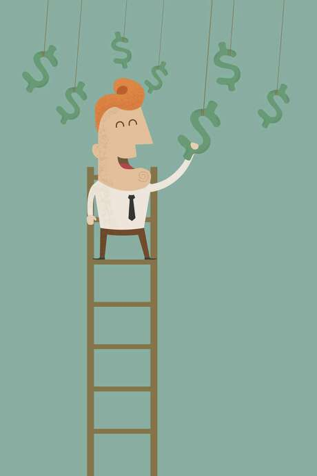 business man catching a money   , eps10 vector format Photo: Ratch0013 - Fotolia / ratch0013 - Fotolia