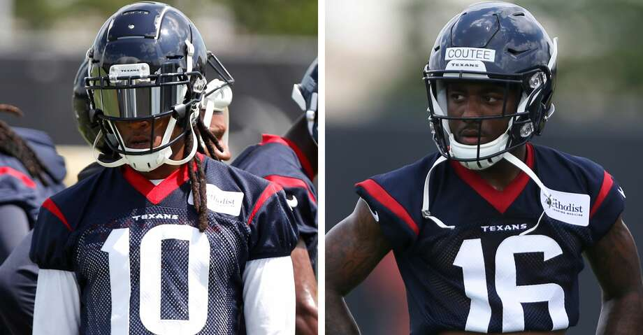 """He's only getting better,"" Texans Pro Bowl wide receiver DeAndre Hopkins said of rookie Keke Coutee. Photo: Houston Chronicle"