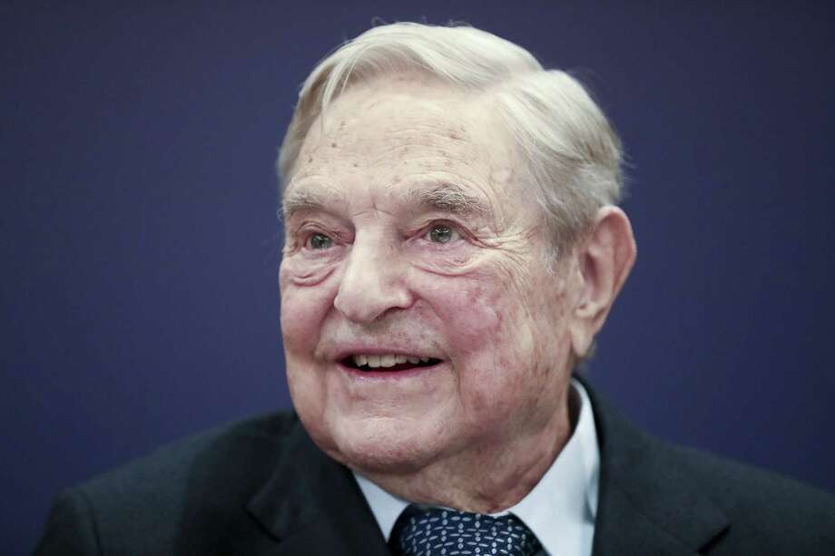 Billionaire George Soros, seen here in January 2018, has promoted democracy in Eastern Europe. Photo: Bloomberg Photo By Simon Dawson / Bloomberg