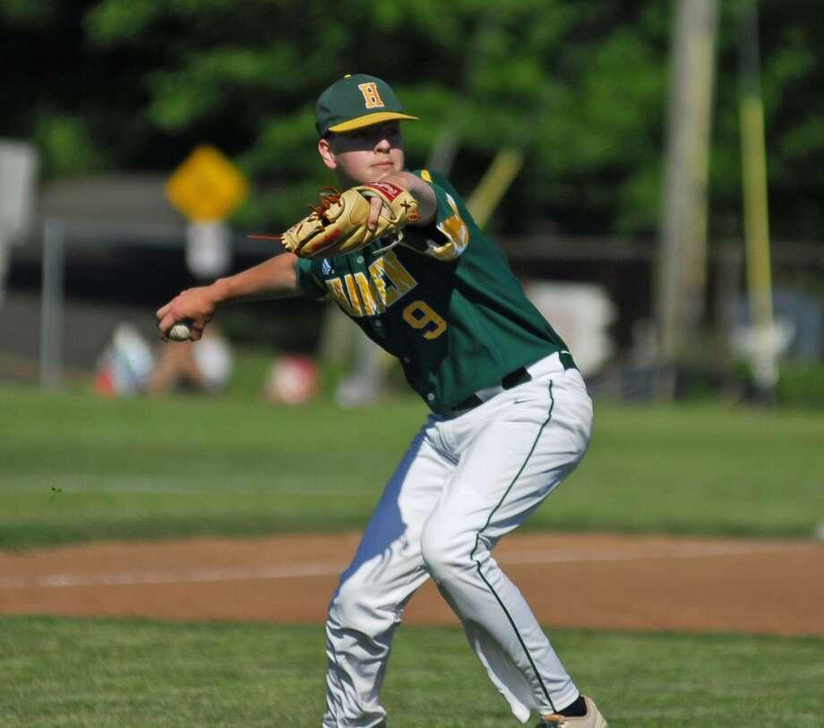 Baseball Price Ridgefield Shut Down Hamden In Cl Ll Second Round