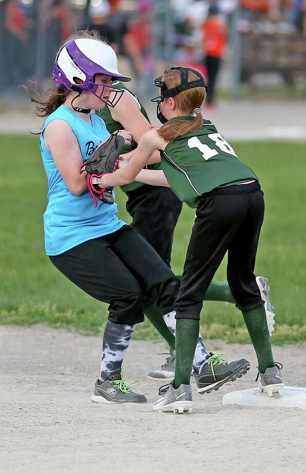Little League 5-30-18 Photo: Paul P. Adams/Huron Daily Tribune