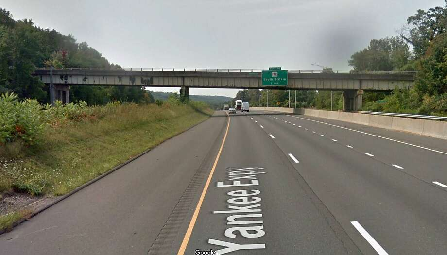 """Repair work will keep Southbury's Bullet Hill Bridge over I-84 closed for five weeks. The state Department of Transportation says the bridge will be closed from June 11 through July 16, 2018. """"The closure is required in order to perform necessary concrete deck and joint repairs,"""" the DOT said in a release. """"The final configuration will include a newly-paved wearing surface on the bridge and approach slabs. Photo: Google Street View Image"""