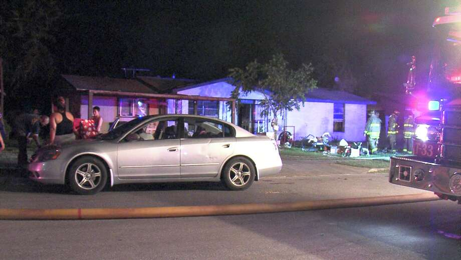 According to a battalion chief with the San Antonio Fire Department, the lamp fell over on May 30, 2018, causing a small blaze that the owner thought she extinguished. Later that night, the fire grew and tore through the back of the house. Firefighters responded to the blaze around 11:30 p.m. and extinguished the flames. Photo: Ken Branca