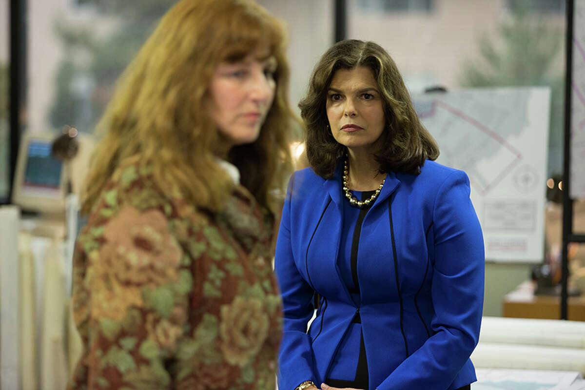 """Catherine Keener, left, and Jeanne Tripplehorn in """"Little Pink House."""""""