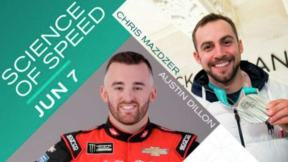 The Science of Speed featuring Austin Dillon and Chris Mazdzer (photo provided)