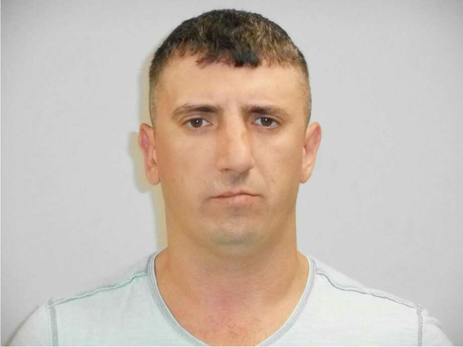 Petro Osipov was charged with larceny and conspiracy to commit, both of the sixth degree, in Westport on May 23. Photo: Contributed / Contributed Photo / Westport News contributed