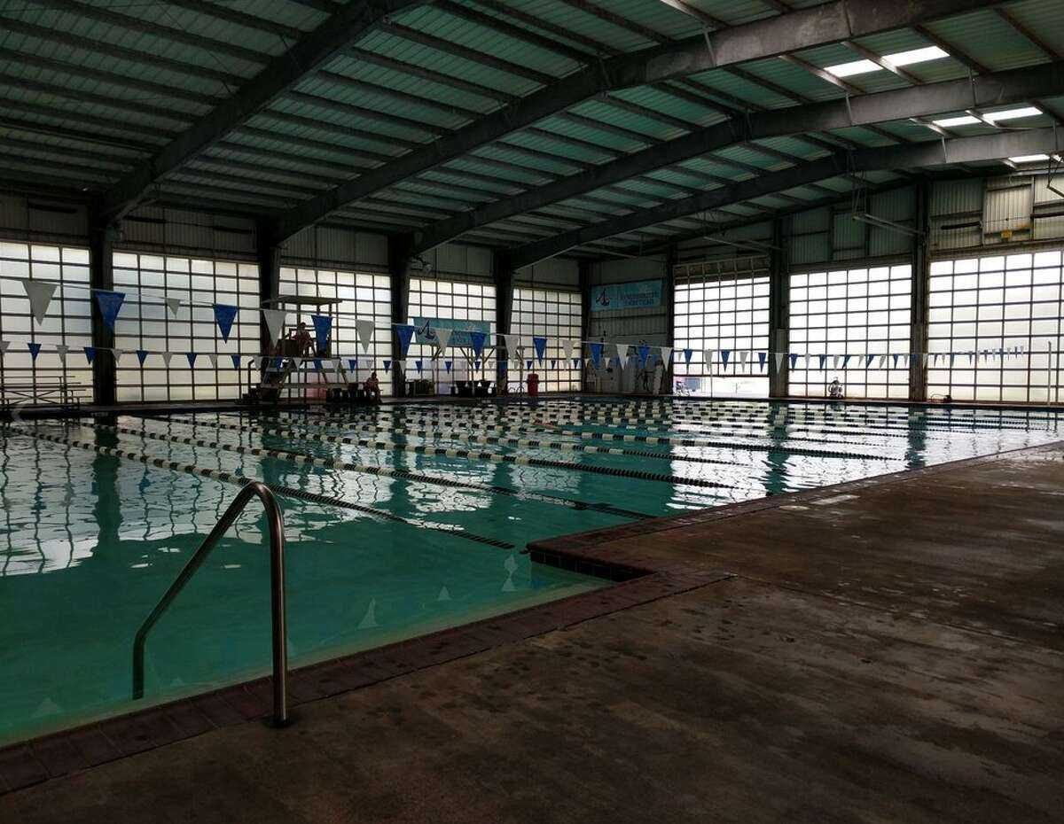 Williams Indoor Pool Privately owned heated indoor pool and lap pool. Swimming lessons are available. 15000 McConn, Webster, 281-486-2626; williamsindoorpool.com. Hours: 5:30-10 a.m. and 4-8 p.m. Mon.-Fri., 9 a.m.-noon and 1-4 p.m. Sat., 1-6 p.m. Sun. Fee: $5 per hour, with monthly and annual memberships available