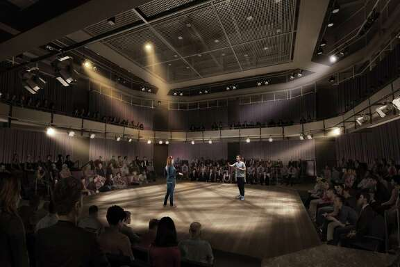 A rendering of the Arena Stage at the The Gordy.