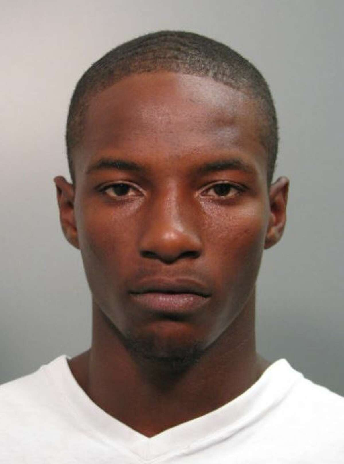 Authorities are searching for James Johnson after a woman was shot in her car on Thursday, May 31, 2018.