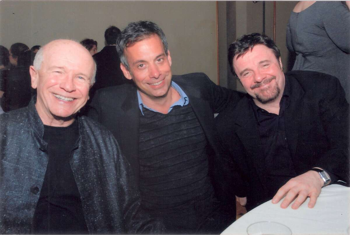 """(l to r) Terrence McNally, Joe Mantello and Nathan Lane in te new documentary """"Every Act of Life,"""" which will be shown at Frameline 42 on June 16 at the Castro Theater."""