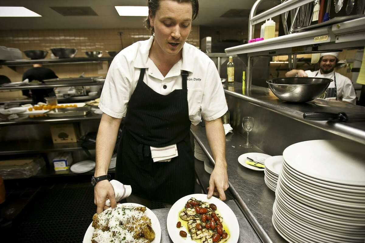 Chef Jason Dady prepares meals back in 2008 at Tre Trattoria when the restaurant made its San Antonio debut. After about 10 years in business at 4003 Broadway, Tre is moving to a space inside the San Antonio Museum of Art at 200 W. Jones Ave.