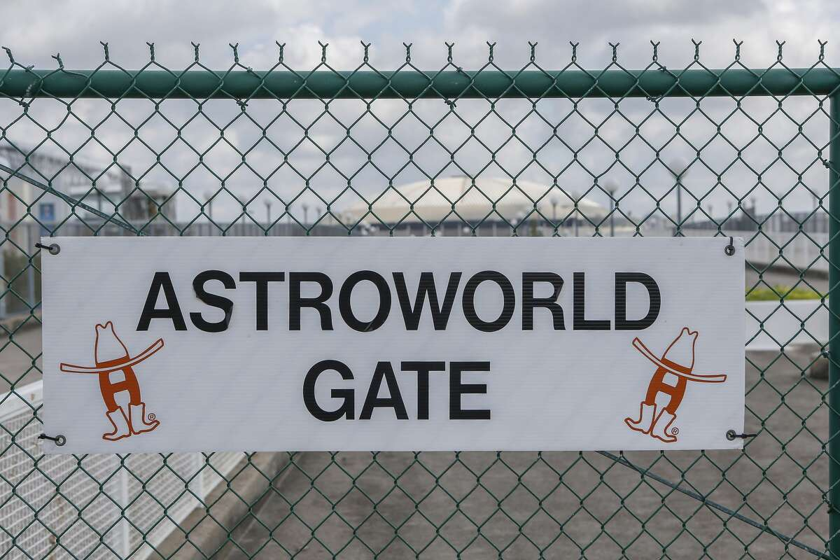 Six Flags AstroWorld used to occupy this area across the south of Loop 610 from the Astrodome is photographed Thursday, May 31, 2018, in Houston. See what the former AstroWorld looks like 50 years after it opened...