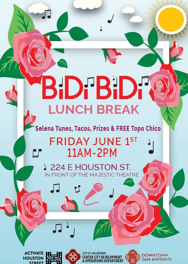 """Bidi Bidi Lunch Break"" will take place from 11 a.m. to 2 p.m. on Friday at 224 E. Houston St."