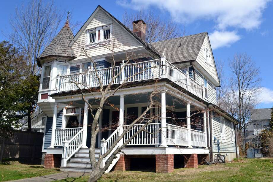 The exterior of the Queen Anne Victorian house at 152 Stratfield Road in Fairfield. The house dates to 1898, and has undergone some renovations over the years. Photo: Contributed Photos / Connecticut Post Contributed