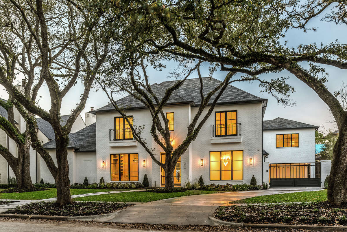 This new home at 3826 Meadow Lake Lane will have a cocktail open house 6-8 p.m. June 7. The home's interior furnishings will be sold in a silent auction to benefit Houston PetSet.