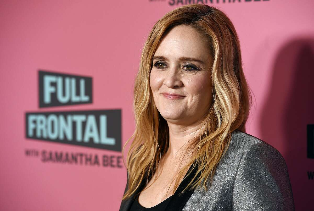 FILE - In this May 24, 2018 file photo, Samantha Bee, host of