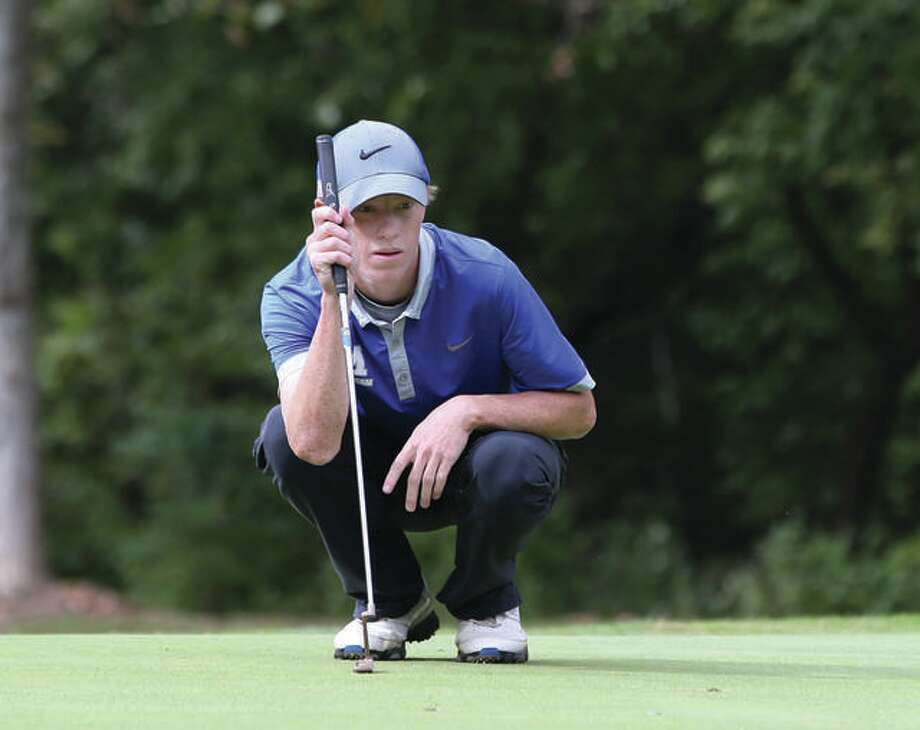 Michael Holtz, who won the Greater Godfrey Open 2016 Flighted Division, is among the entries for this year's tourney, set for this weekend at Rolling Hills Golf Course. Photo:     Telegraph File Photo