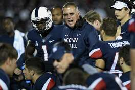 The kickoff times for UConn's first three games next season have been announced.