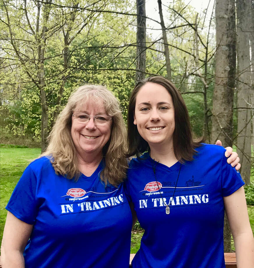 Carol and Brianna Phillips, a mother and daughter from Schenectady, plan to complete the Freihofer's Run for Women together on Saturday. (Freihofer's Run for Women)
