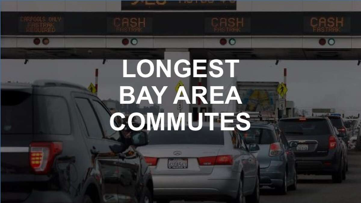 Click through this slideshow for the cities where residents have the longest commutes.
