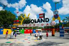 A woman is suing Legoland on behalf of her son, who she claims suffered permanent disfigurement after having his face painted at the Florida resort in 2016.
