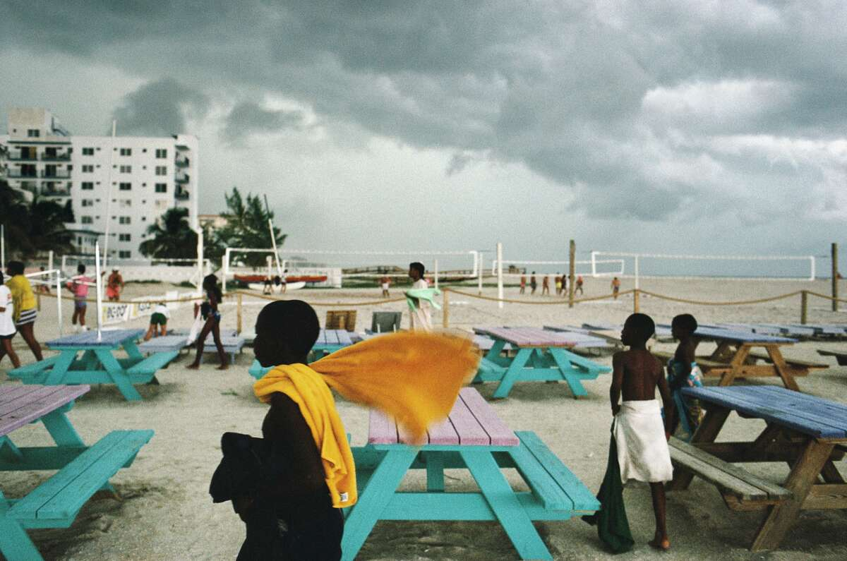 Alex Webb - Miami Beach, Florida. 1989. Quote: