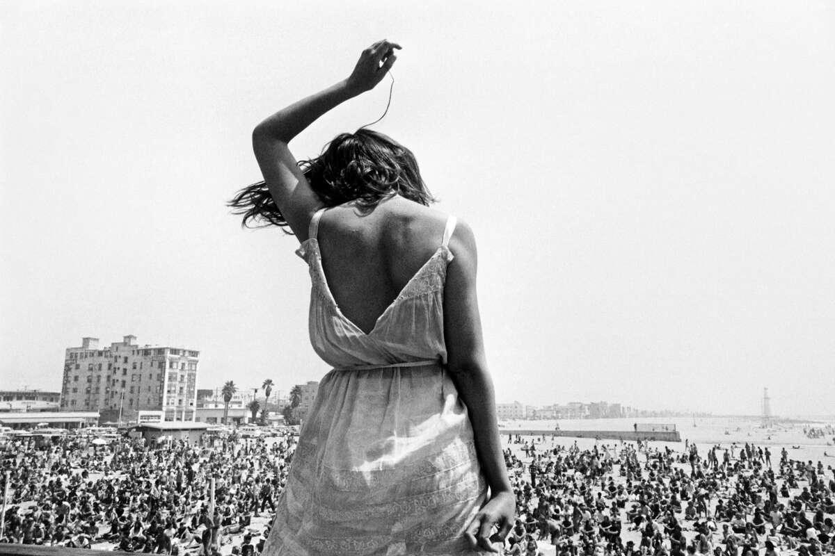 Dennis Stock - Venice Beach Rock Festival,Calif., 1968. Quote: