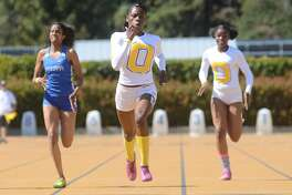 Tierra Robinson-Jones of Bishop O'Dowd-Oakland is among the state leaders at 200 and 400 meters heading into this weekend's state meet in Clovis.