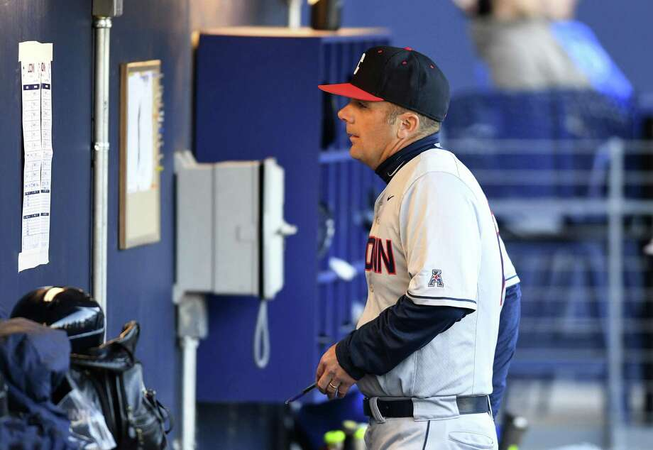 UConn baseball coach Jim Penders. Photo: UConn Athletics / Contributed Photo / Stamford Advocate Contributed