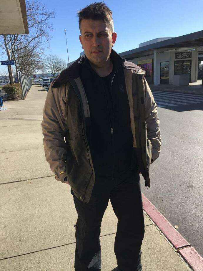 "Constantinos ""Danny"" Filippidis, a 49-year-old firefighter from Toronto, is pictured in Sacramento, California on Feb. 13, 2018, wearing the same clothes worn while skiing at Whiteface Mountain when he went missing on Feb. 7, 2018. (Provided by State Police) Photo: Provided By State Police"