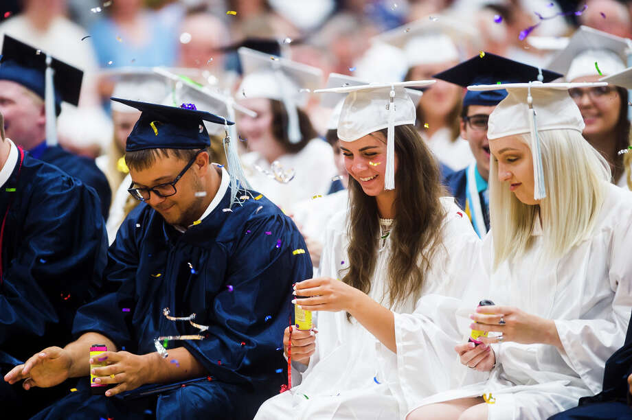 Scenes from Meridian Early College High School's commencement ceremony on Thursday, May 31, 2018. (Katy Kildee/kkildee@mdn.net) Photo: (Katy Kildee/kkildee@mdn.net)