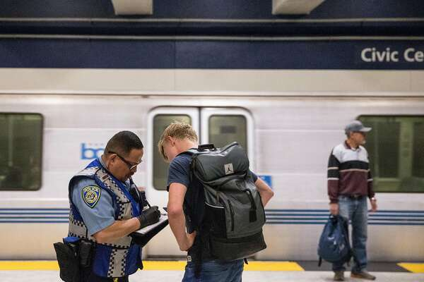 BART cited 1,300 fare evaders in 2 months  Only about 100