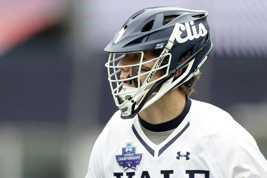Yale's Ben Reeves was named the Tewaaraton Award winner on Thursday night. Photo: Maddie Meyer / Getty Images / 2018 Getty Images