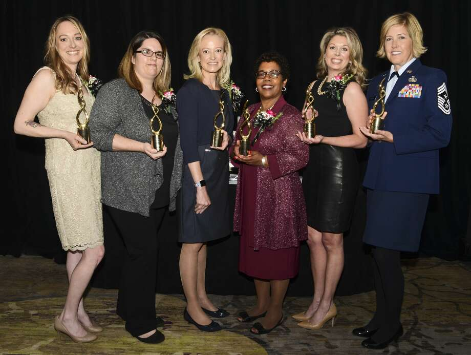 Were you Seen at the 27th Women of Excellence Awards Luncheon, presented by the Capital Region Chamber's Women's Business Council, at the Albany Marriott in Colonie on May 31, 2018? Photo: Colleen Ingerto / Times Union