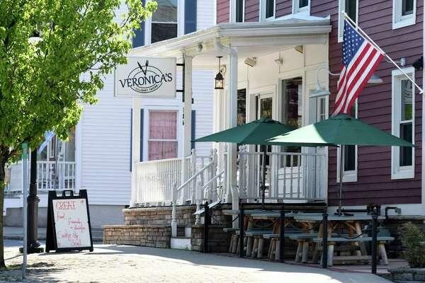 Exterior of Veronica's Culinary Tavern on Thursday, May 24, on Main Street in Altamont, N.Y.  (Will Waldron/Times Union)