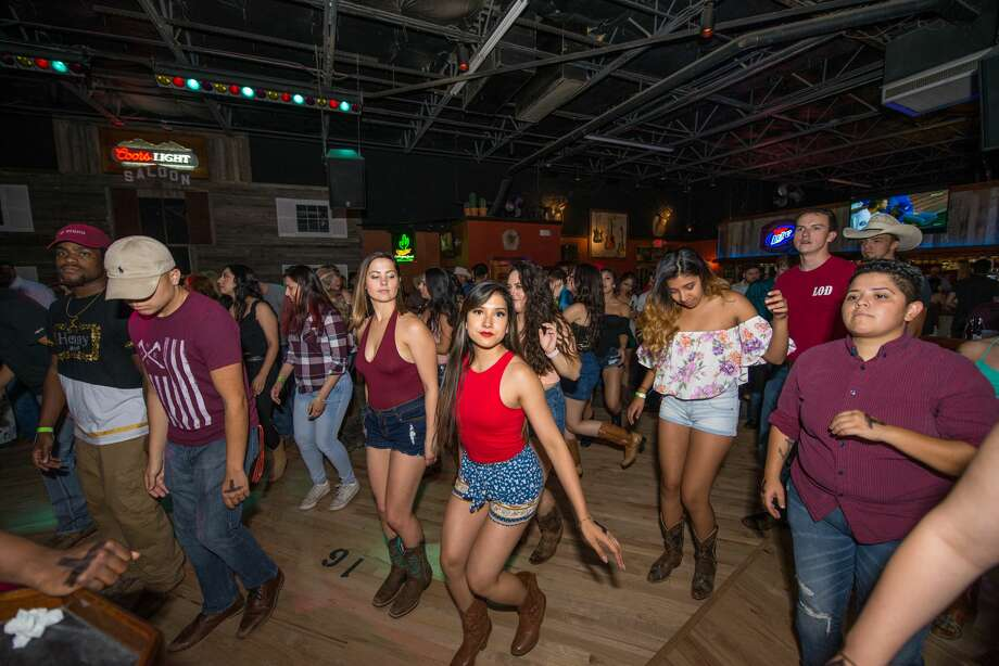 Denim cutoffs took over the club Thursday, May 31, 2018, for Wild West's Daisy Dukes night as locals decided who would take home the $400 prize money and hit the dancefloor. Photo:  Kody Melton For MySA