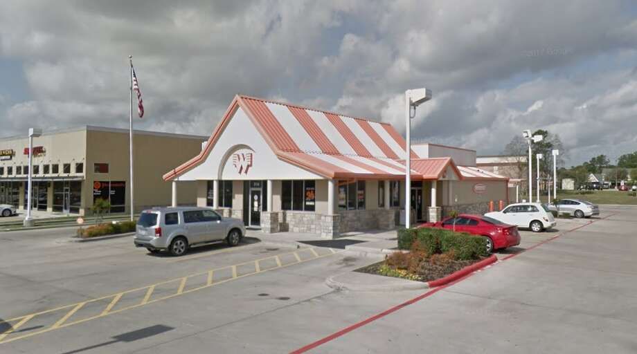 Whataburger has apologized to a Friendswood police officer who was denied service at the restaurant on Thursday because he was carrying his duty weapon.   Photo: Google Earth