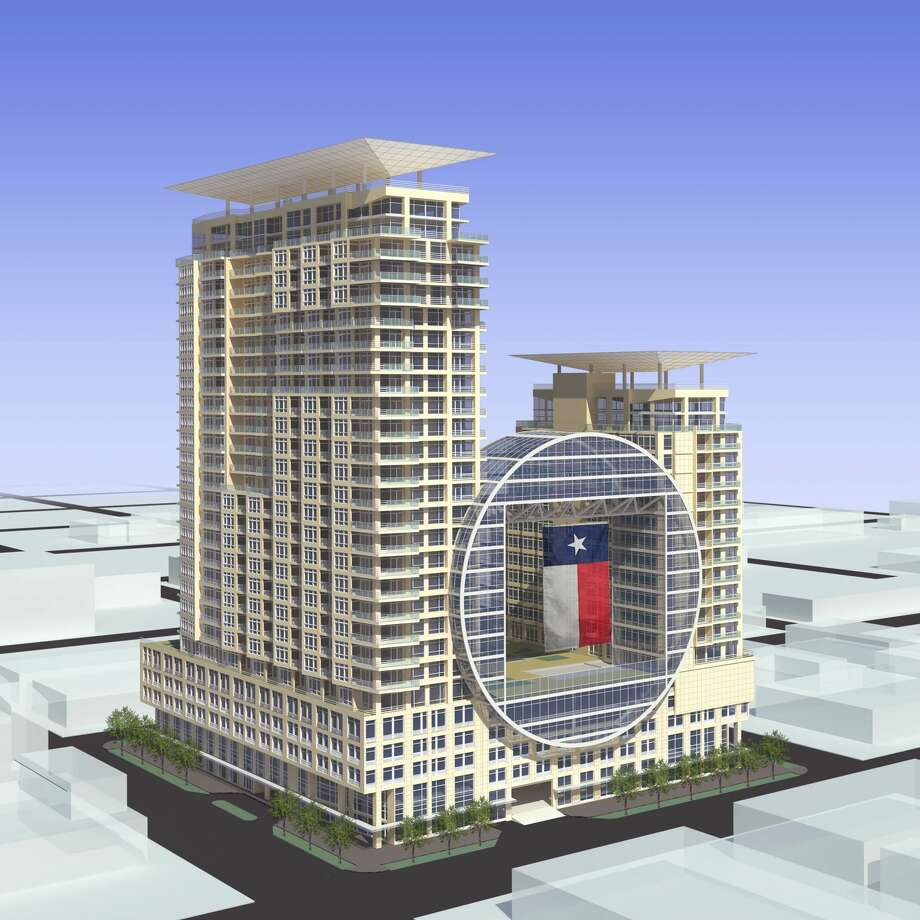A new $150 million hotel and condo tower is planned for downtown Houston's east end, along one of the area's most popular streets, St. Emanuel.
