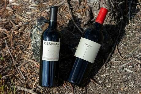 The wine at Obsidian Ridge Vineyard, Friday, April 27, 2018, in Kelseyville, Calif.