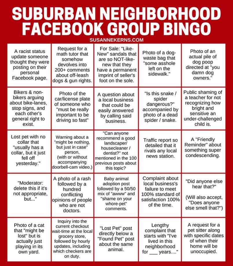 100 question facebook status