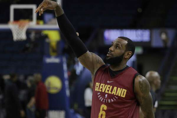 the best attitude cd774 3fe1c Writers' Roundtable: who wins the NBA Finals and will LeBron ...