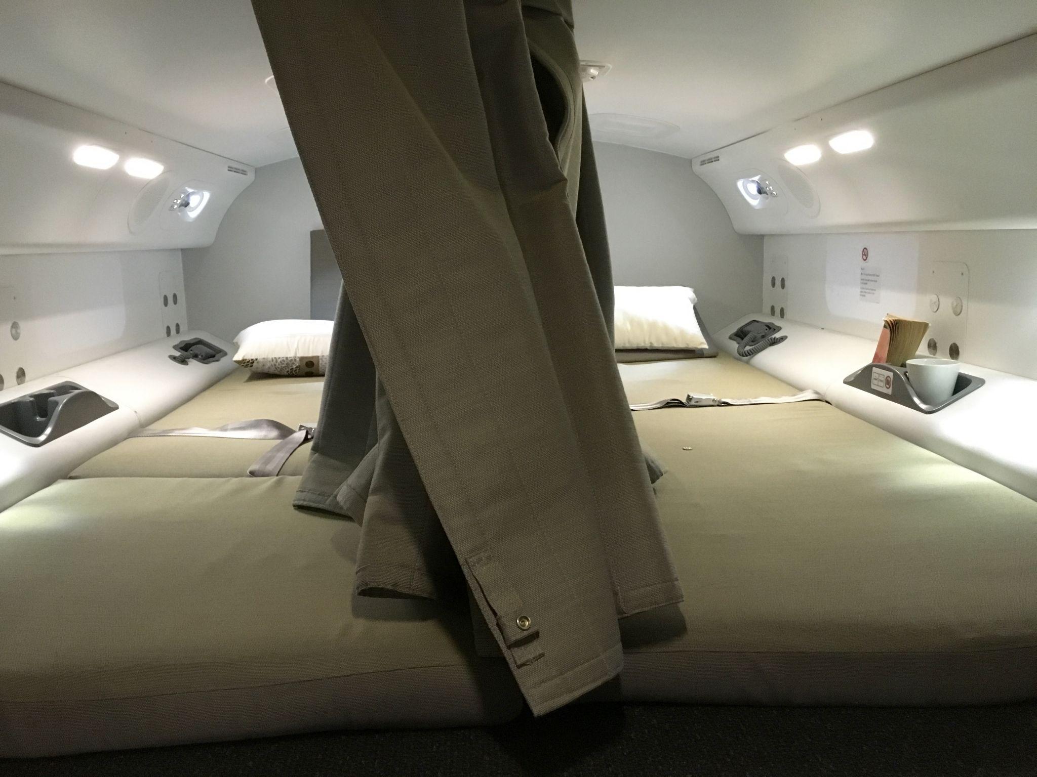 Where Pilots And Flight Attendants Sleep On Long Flights
