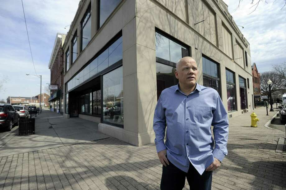 Manny Carreras has been hoping to make his building at 41 White St. in Danbury into a restaurant with self-pour technology. Photo: Carol Kaliff / Hearst Connecticut Media / The News-Times