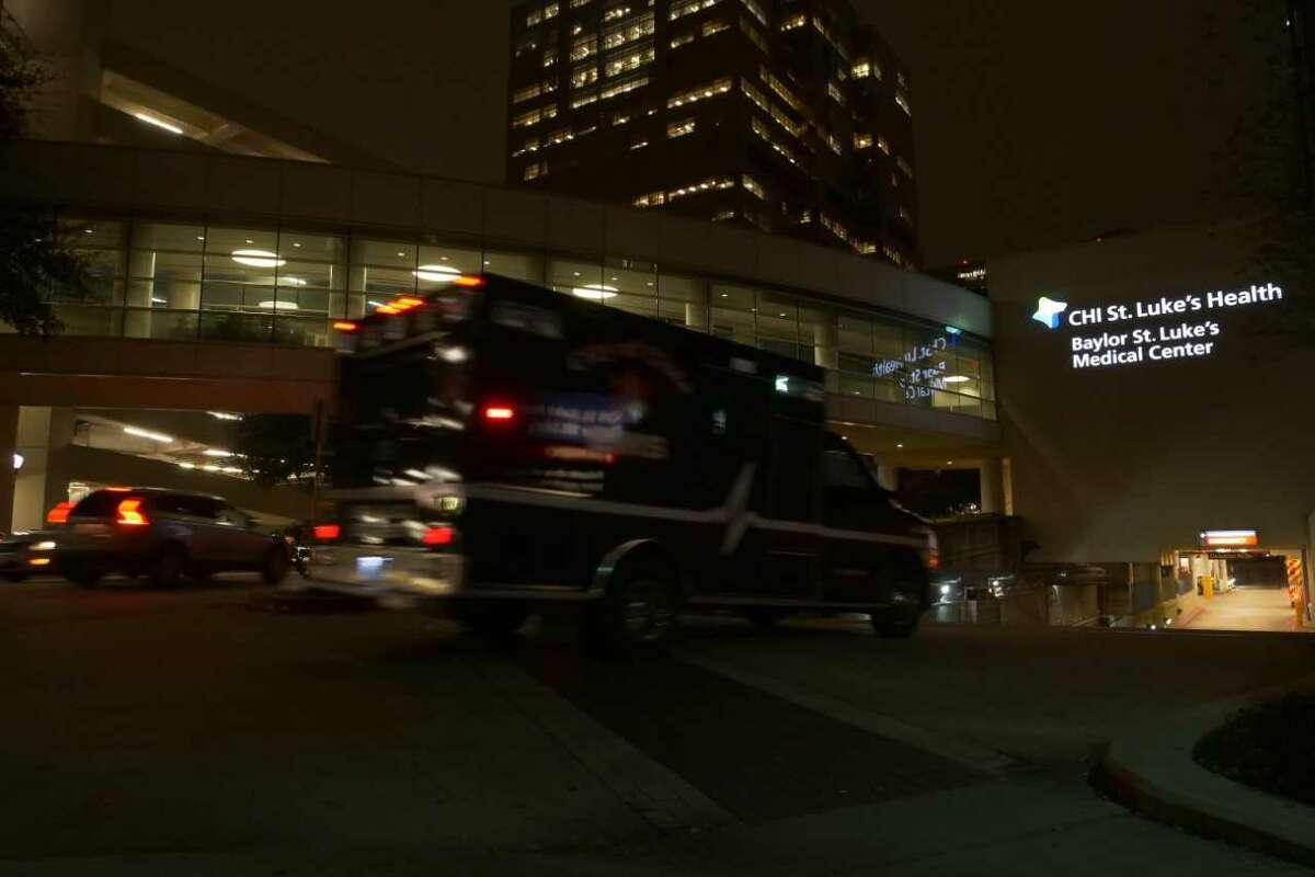 Baylor St. Luke's Medical Center is pictured.