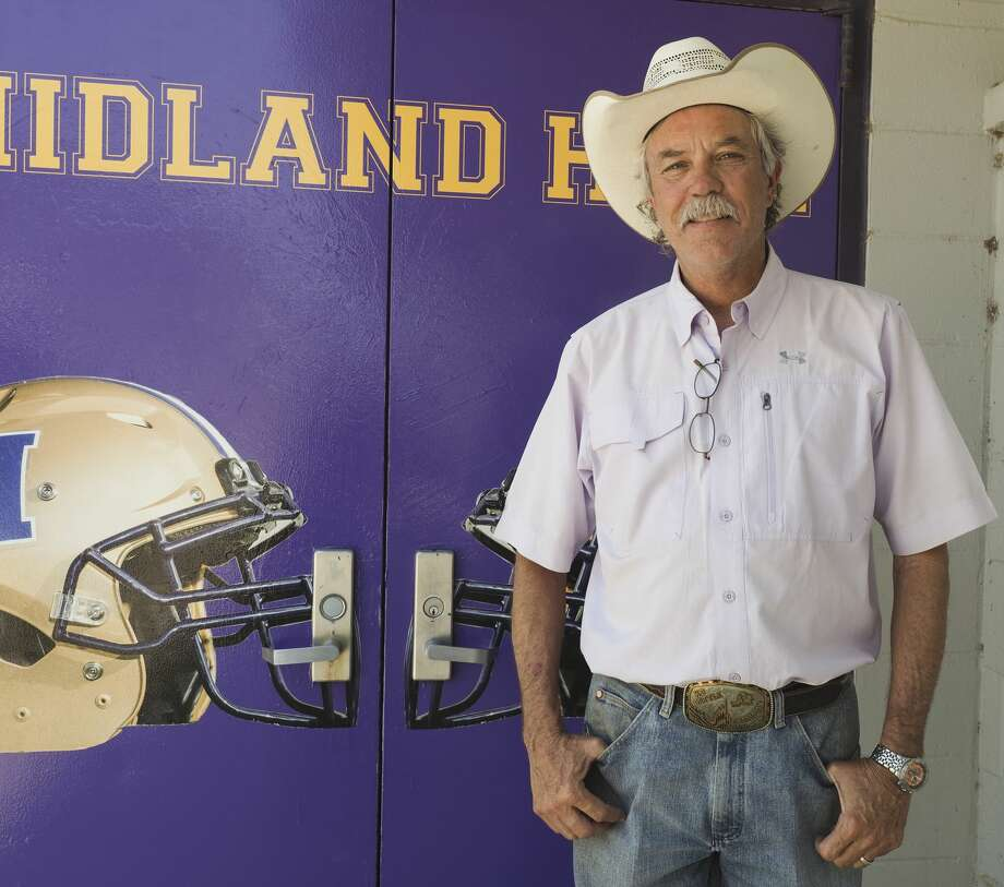 Hondo Schneider, long time MISD athletic trainer is retiring after 29 years taking care of Midland athletes. 06/01/18 Tim Fischer/Reporter-Telegram Photo: Tim Fischer/Midland Reporter-Telegram