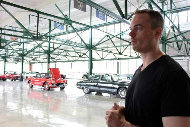 Colton Amster, owner of Redline Restorations in Black Rock.