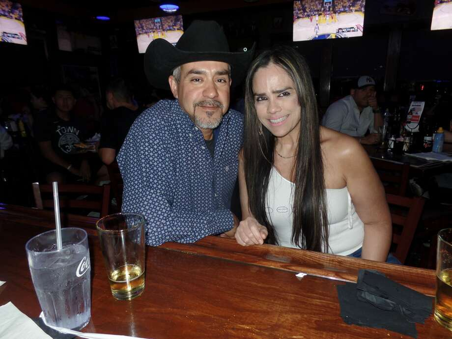 Edward Duennez and Mary Johnson at Tilted Kilt Pub & Eatery
