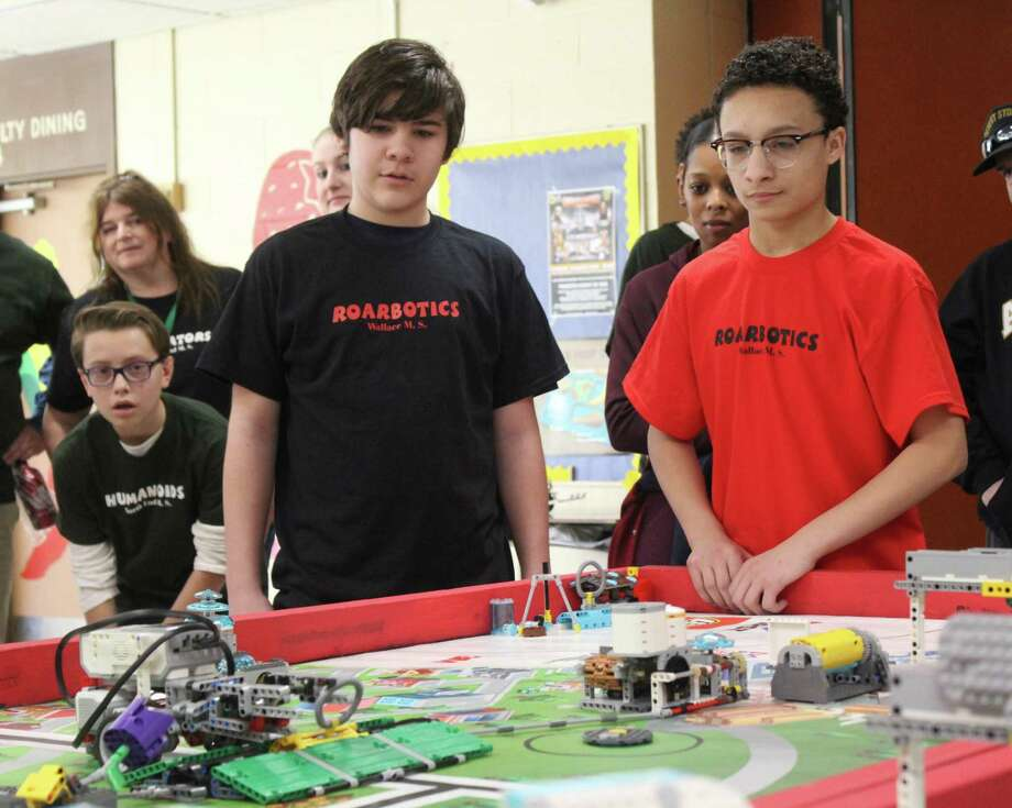 STEM Robotics is one of the programs supported by the foundation. Photo: Contributed Photo