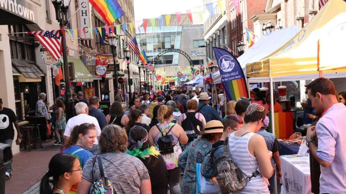 Celebrate LGBTQ+ pride at the 2019 Hartford Pride on Saturday. Find out more.